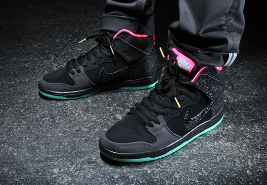 "Premier x Nike SB Dunk High ""Northern Lights"" – Release Date"