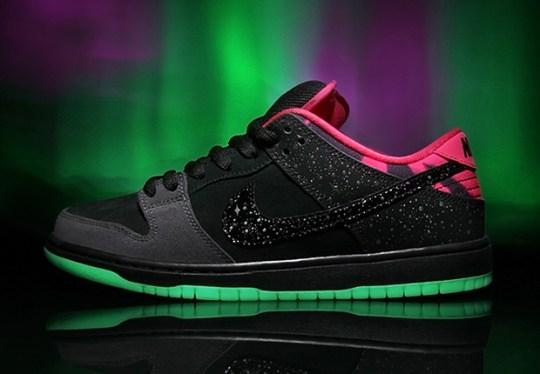 "Premier x Nike SB Dunk Low ""Northern Lights"""