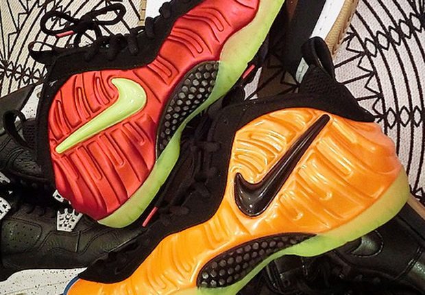 rainbow what the foamposite Nike What The Foamposite Sample