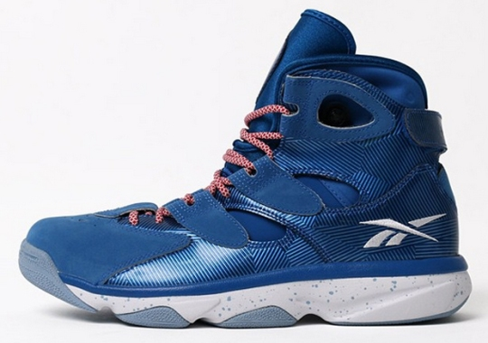 Reebok Shaq Attaq IV – Royal – Grey
