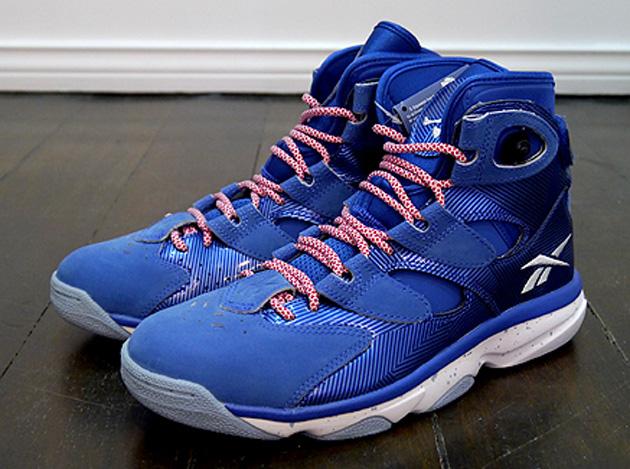 941141ce39a6e3 Reebok Shaq Attaq IV - Royal - Grey - SneakerNews.com