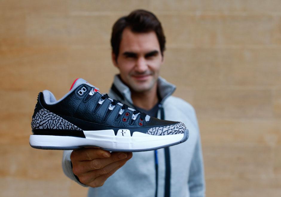 Continental Decepción Estudiante  Roger Federer Remembers The OG Air Jordan 3, Michael Jordan, and More -  SneakerNews.com