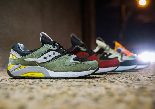 "Saucony Grid 9000 ""Autumn Spice"" Collection – Available"