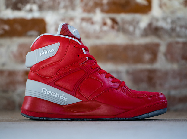 all red reebok