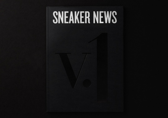 SNEAKER NEWS Volume One: Special Edition Cover