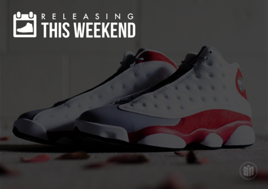 Sneakers Releasing This Weekend – November 15th, 2014