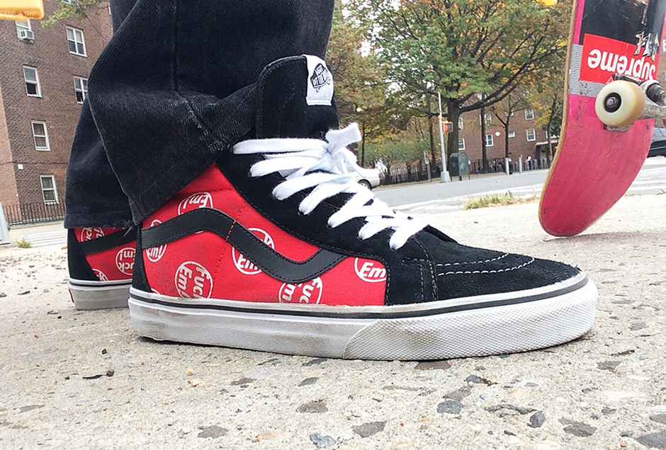 This Thursday In Collaboration With Vans Supreme Will Release Their Fuck Em
