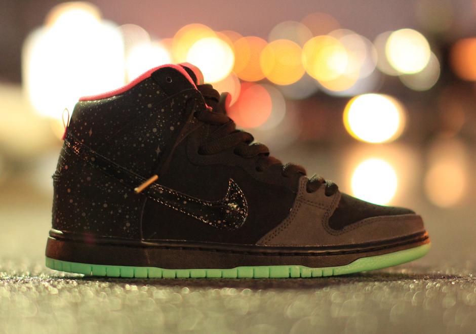 Nike Sb Dunk High Northern Lights