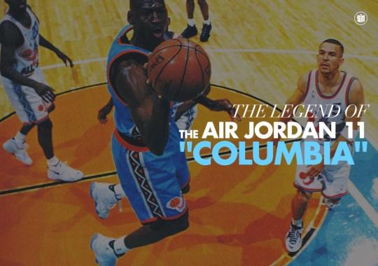 "The Legend of the Air Jordan 11 ""Columbia"""