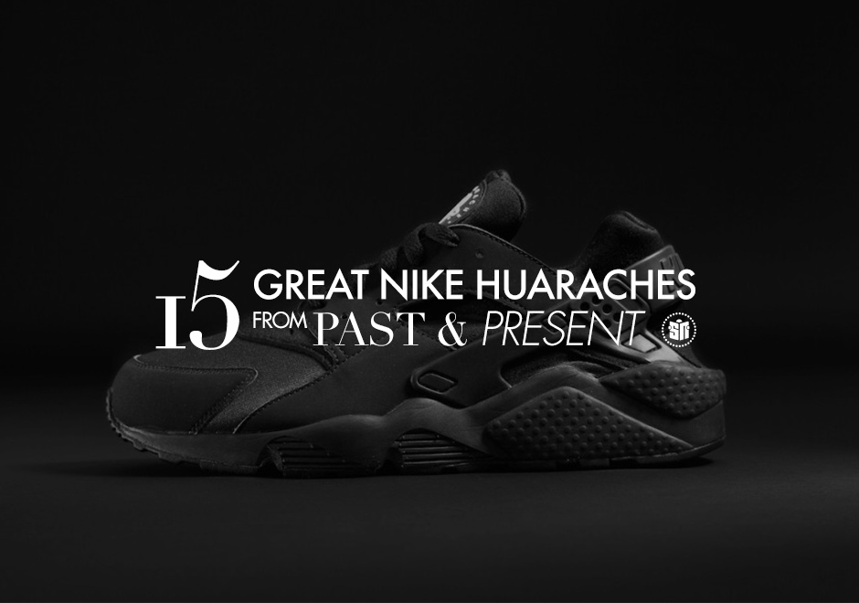 buy online 025d3 5486e Looking Back at 15 Great Nike Huaraches From Past   Present