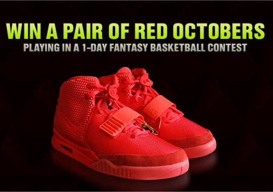 Drop Everything, DraftKings Has a Pair of Red Octobers for You