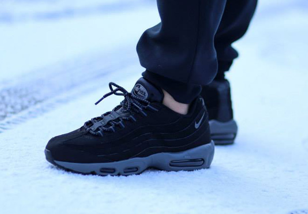 all black air max 95 for sale