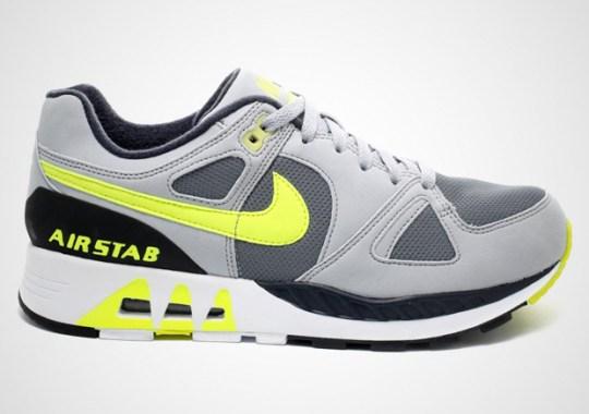 Nike Air Stab – Cool Grey – Volt