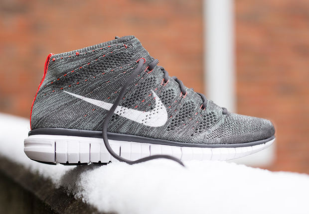 "sale retailer 88196 e86dd A Detailed Look at the Nike Free Flyknit Chukka ""Wolf Grey"""