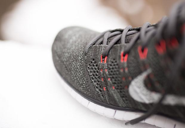 Nike Free Flyknit Chukka Grå XXr1Uvx