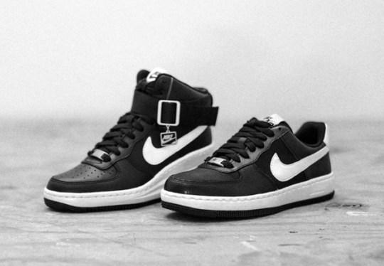 """Nike Womens Air Force 1 """"Black/White"""" Pack"""