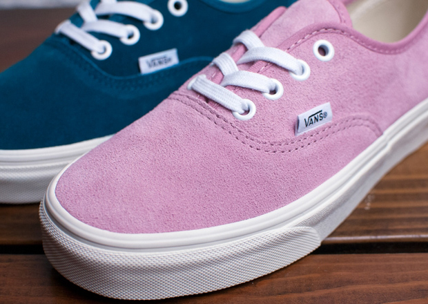 """9203ce88e1 ... Authentic """"Vintage Suede"""" offerings are arriving at finer Vans  retailers now. Source  DQM for Vans"""