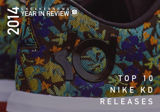 Sneaker News 2014 Year in Review: Top 10 Nike KD Releases