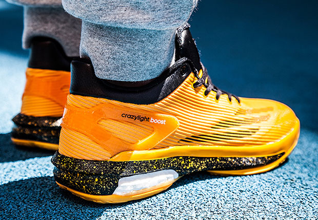 huge discount 09e76 01ca5 adidas Crazy Light Boost – Yellow – Black