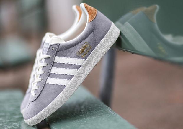 adidas Originals Gazelle OG - Grey - Gold - SneakerNews.com
