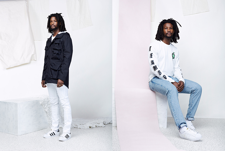 adidas Originals Superstar Lookbook for January 2015