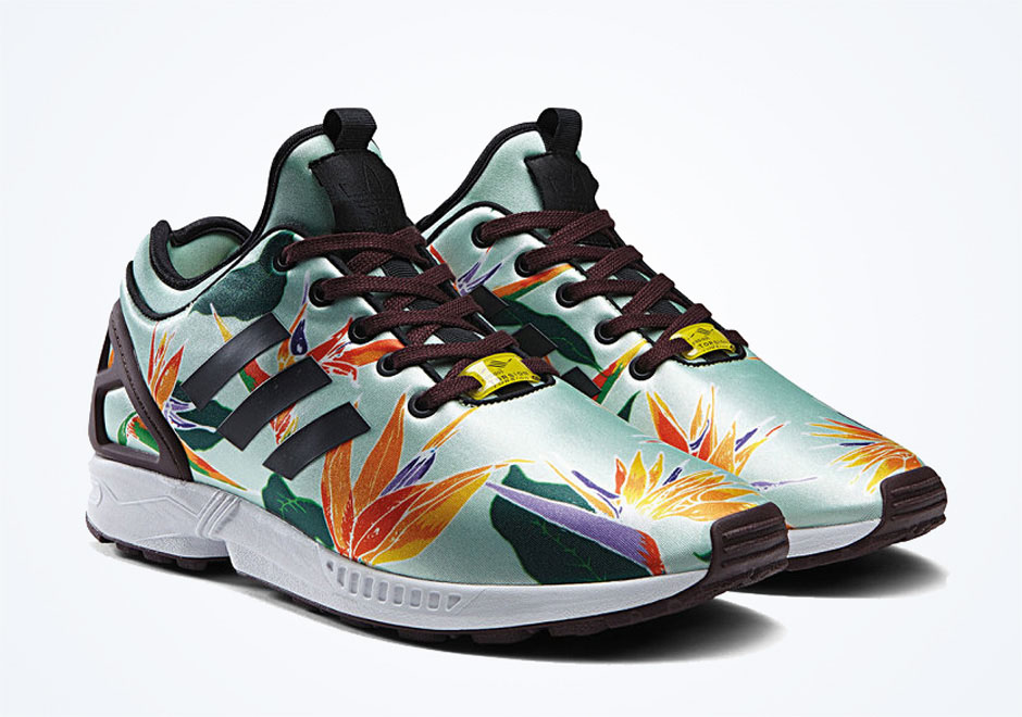 adida zx flux floral