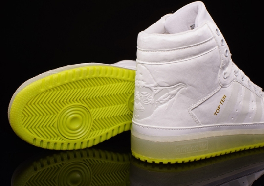 "Star Wars x adidas Top Ten Hi Kids ""Yoda"""