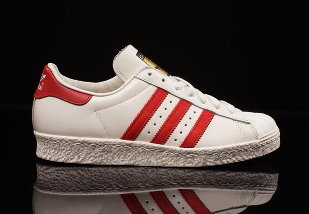 80s Superstar Adidas Dlx Rouge yQCs19