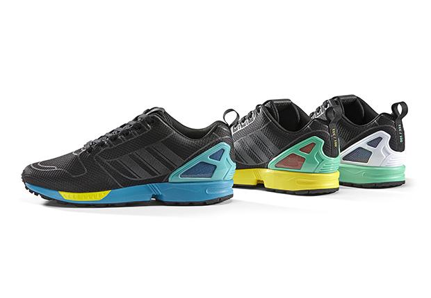 new style dbbde 3316e Adidas ZX Flux Slip On BLACK - On Feet - Adidas ZX Flux Slip ON
