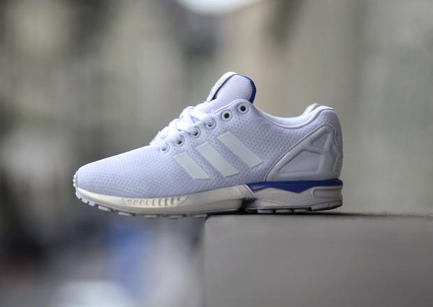 adidas Originals ZX Flux Men's Running Shoes White/Black/Gum