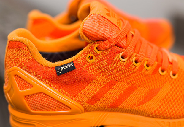 "76f8f4069 The ZX Flux Weave Gore-Tex ""Orange"" is arriving now at select European adidas  Originals retailers"