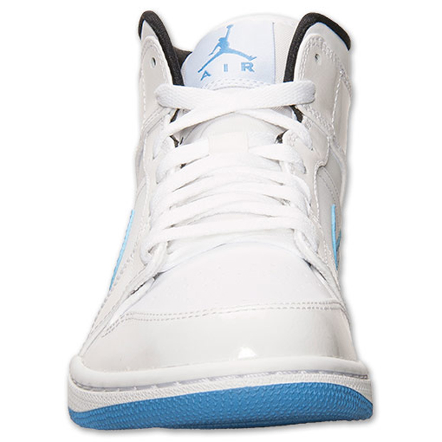 "74ec40f75c35 Air Jordan 1 Mid ""Legend Blue"" Color  White Legend Blue Style Code   554724-127. Price   105"