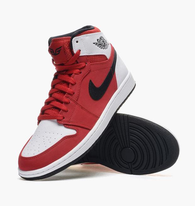 13b06b2132bae3 Air Jordan 1 High Color  Gym Red-Black-White Style Code  332550-601