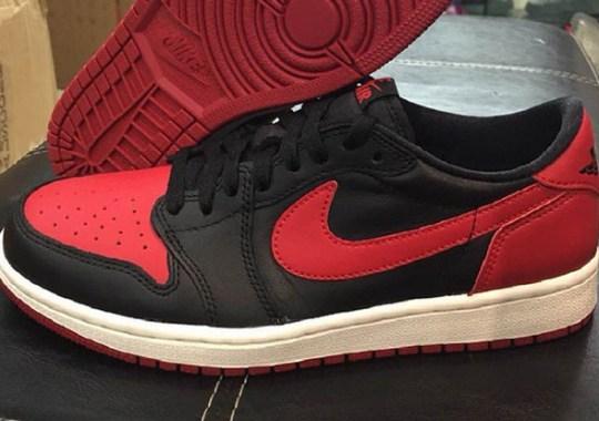 53247a85c61db4 Air Jordan 1 Low OG Bred - SneakerNews.com