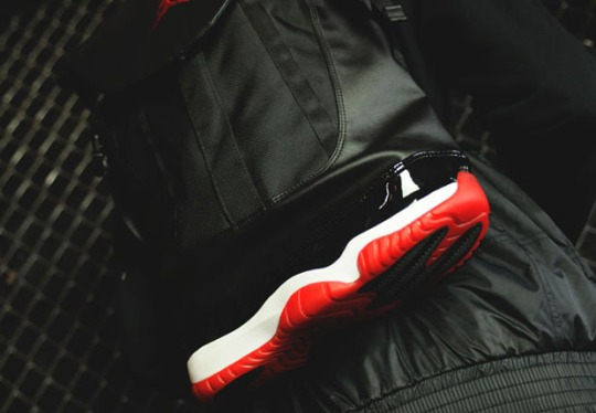 "Air Jordan 11 ""Bred"" Returns in Backpack Form"