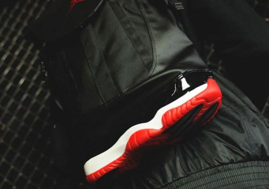 "Air Jordan 11 ""Bred"" Returns in Backpack Form"