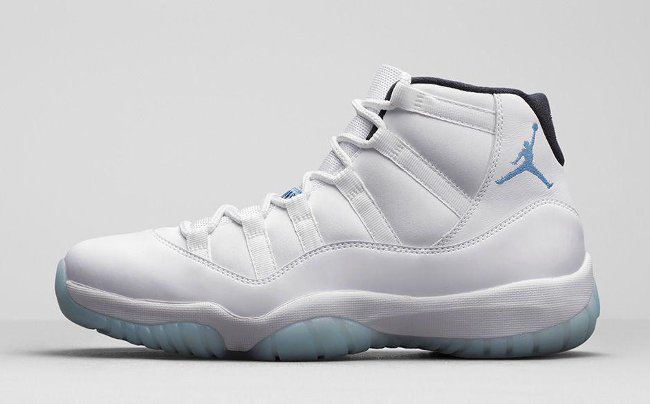 air jordan 11 legend blue sneaker news release