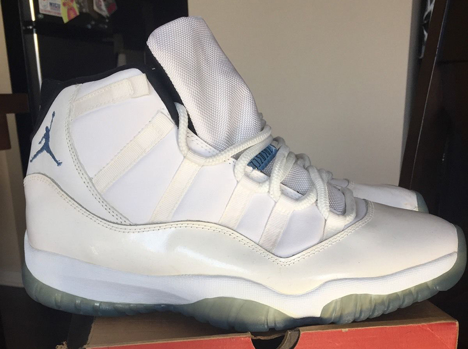 9642fb7a328 Legend Blue 11 Jordans History