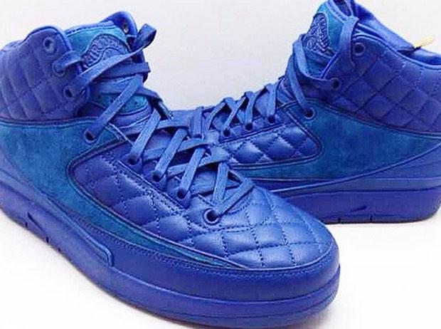 nike air jordan quilted blue