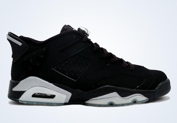 air jordan 6 all black