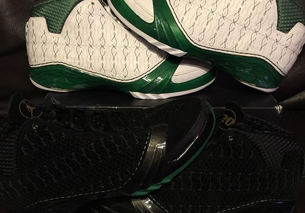 ... air jordan xx3 ray allen celtics pe ebay 01 Air Jordan XX3 Ray Allen  Celtics PEs ... 8bde4e0e2