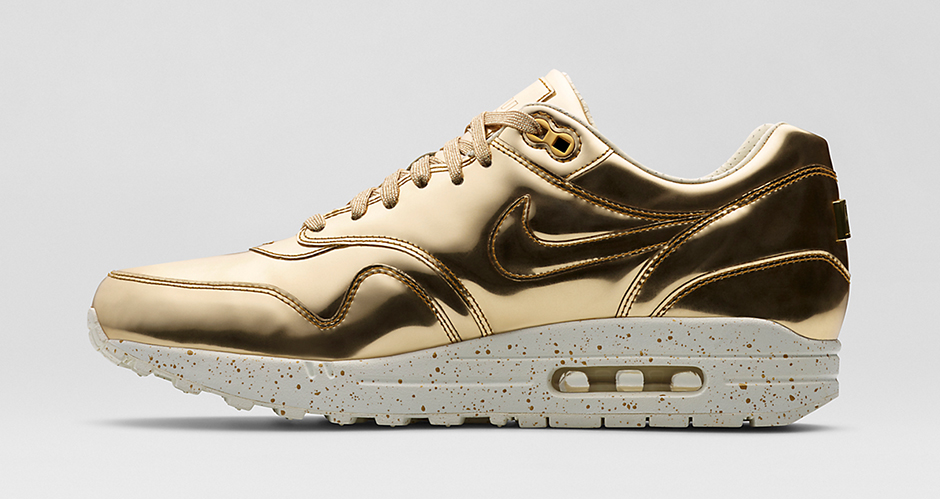nike air max 1 liquid metal sneakers on sale