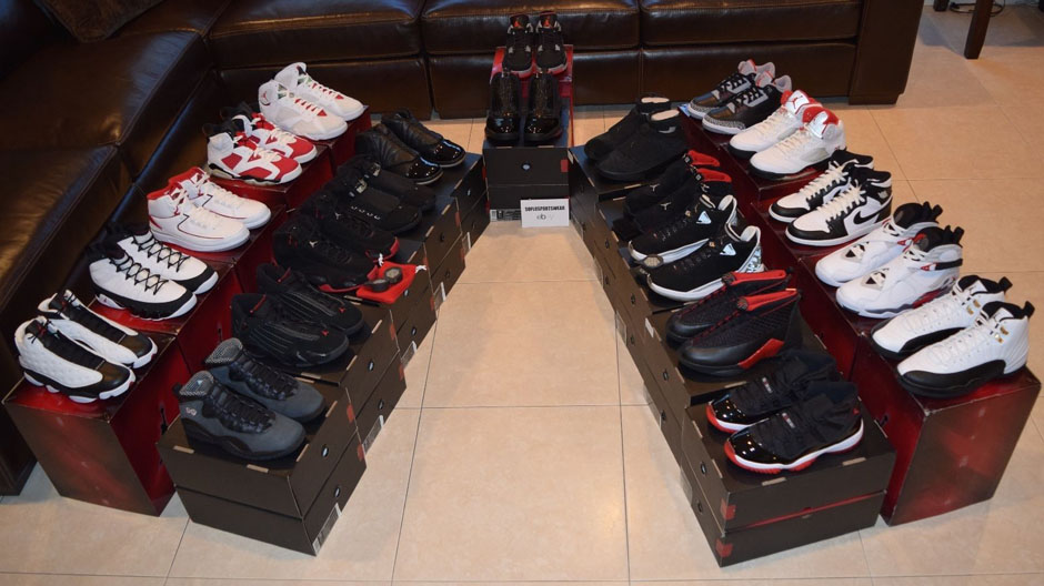on sale 95e08 914ec Build A Sick Air Jordan Collection Overnight By Buying All Eleven  Collezione Packs - SneakerNews.com