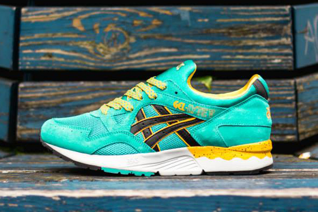 ... Asics Gel Lyte V - Tropical Green - Yellow - Black - Sneaker ... 80608c13c