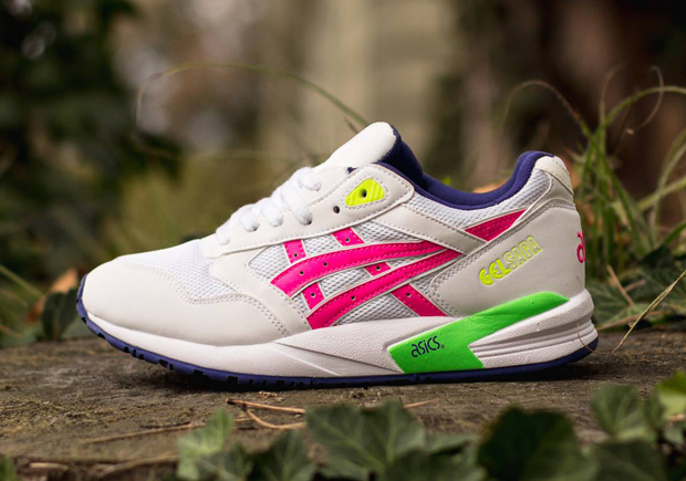 Continuing to explore the bountiful releases Asics has in store for January  2015, we stumble upon a vibrant new Gel Saga colorway.