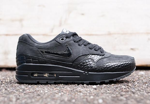 nike pantalon quête de hockey - Nike Women\u0026#39;s Air Max 1 Premium \u0026quot;Black Croc\u0026quot; - SneakerNews.com