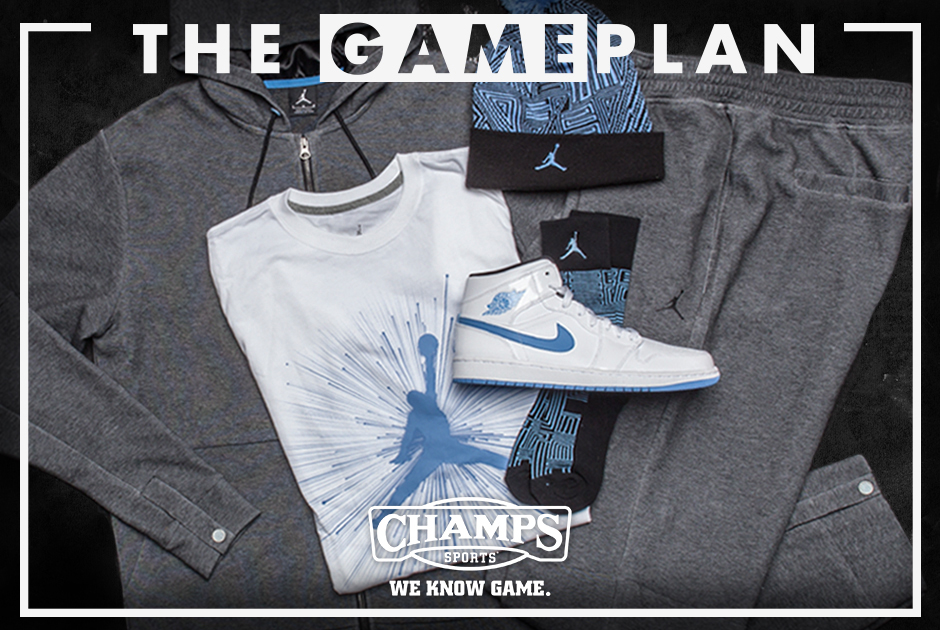 e5f435aba 50%OFF The Game Plan by Champs Sports  Jordan Legend Blue Collection ...