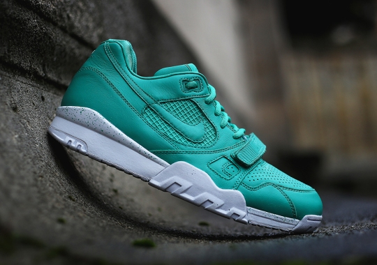 "A Detailed Look at the Nike Air Trainer 2 Premium ""Crystal Mint"""