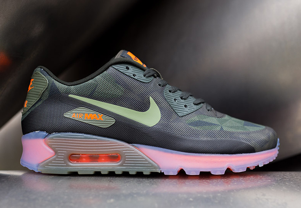 nike air max ice 90 green
