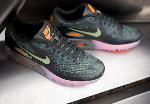 Nike Air Max 90 Glace Vert Foncé
